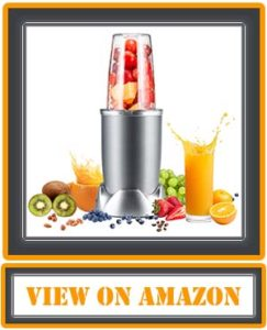 Blender, Countertop Blender, Smoothie Blender Make Smoothies Shakes and Frozen Drinks, 1000W and 2000RPM High-Speed Motor BPA-Free Bottle Mixer System with Hardcover Recipe Book Included
